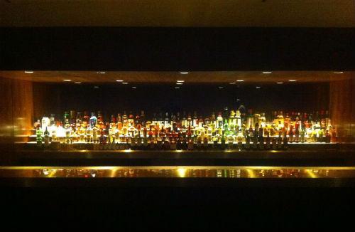 Behind the bar at Smyth.