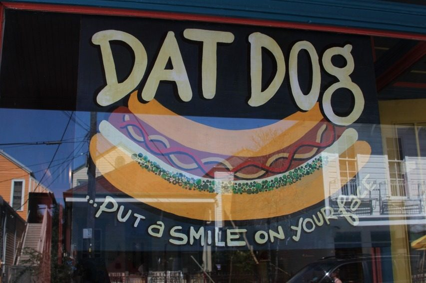 Hot Diggity Dog Menu New Orleans