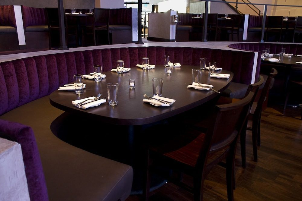 The dining room at Heraea.
