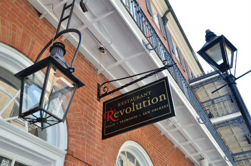 Restaurant R'evolution in New Orleans.