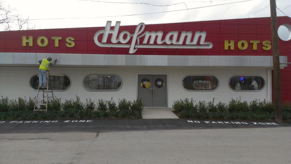 Hofmann Hots' first location in West Dallas.