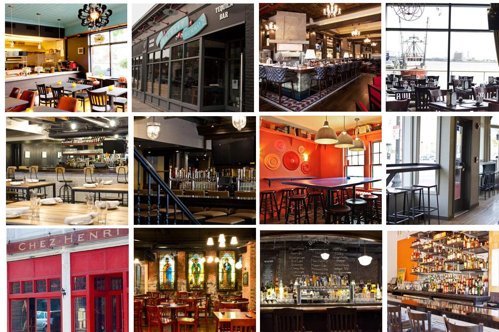 Oak Long Bar And Kitchen Thanksgiving