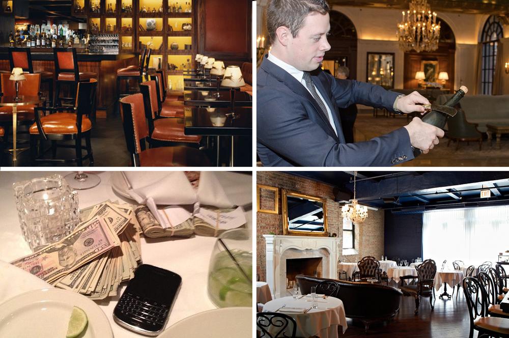 "Clockwise, from top left: The Mansion Bar, Dallas [Photo: <a href=""http://www.rosewoodhotels.com/en/mansiononturtlecreek/dining/the_bar/"">The Mansion on Turtle Creek</a>]; Brent Kroll, Adour, Washington, DC [Photo: <a href=""http://underabushel.com"">"
