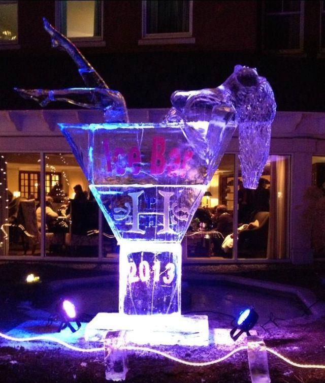 """It's a hot time at <strong>Ice Bar 2013</strong>, which kicked off at <strong>The Portland Harbor Hotel</strong> last night and continues through Saturday. Photo: <a href=""""http://www.facebook.com/pages/Bucks-Bbq-Freeport/351863578178956"""">Buck's Nake"""