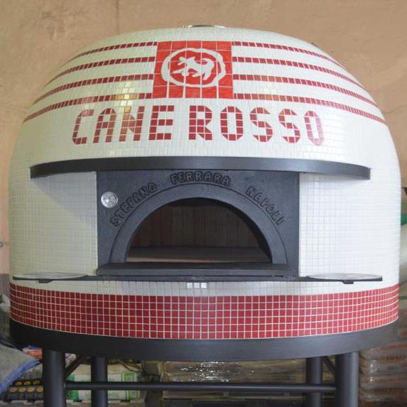 The oven at Cane Rosso White Rock was a real bitch to install.