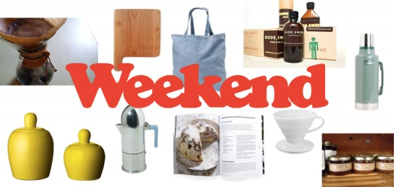 Some of the items that will be featured at Weekend Coffee.