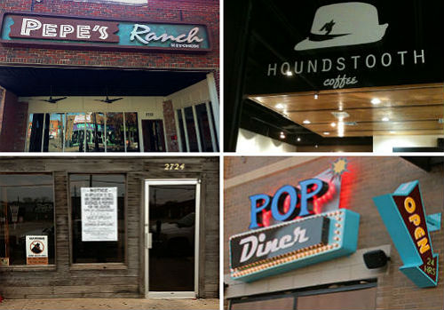 Tanoshi Ramen, Houndstooth Coffee, Pepe's Ranch and Pop Diner are just a fraction of the new spots slated to open this winter.