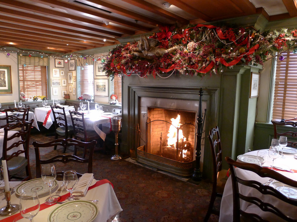 """Decorator extraordinaire William Watts has been creating the Christmas scenes at 1789 for 27 years. He's retired now after 36 years with the Cyde's Restaurant Group, but returns every year to decorate 1789. """"I've always been fascinated with Christma"""