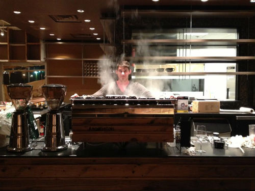 The new Ascension Coffee boasts a $20,000 Synesso Hydra Hybrid espresso machine.