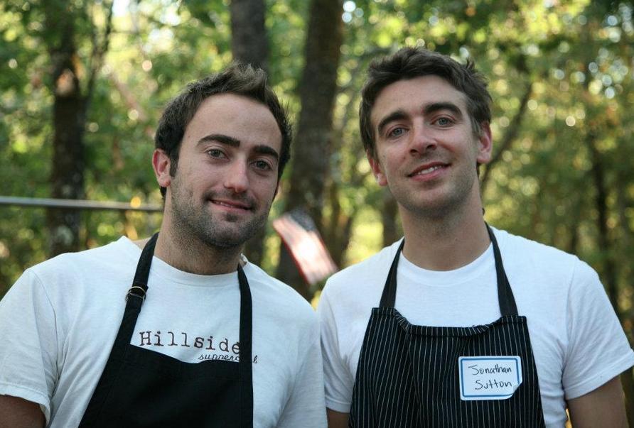 Tony Ferrari and Jonathan Sutton.