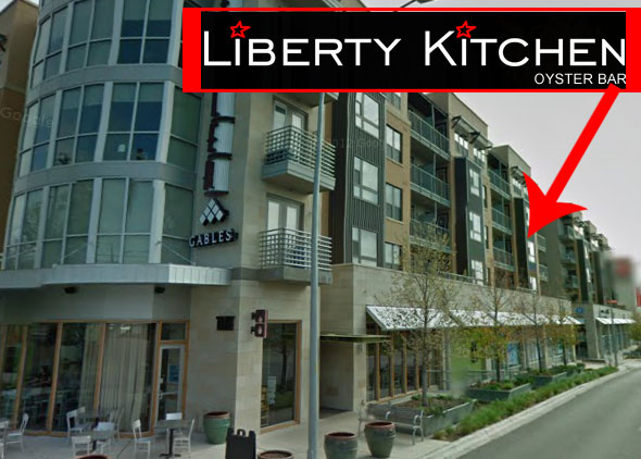 The future home of Liberty Kitchen.