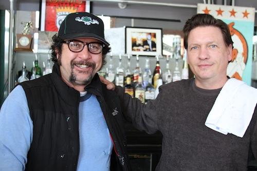 Steve Watson and Ben Sherman