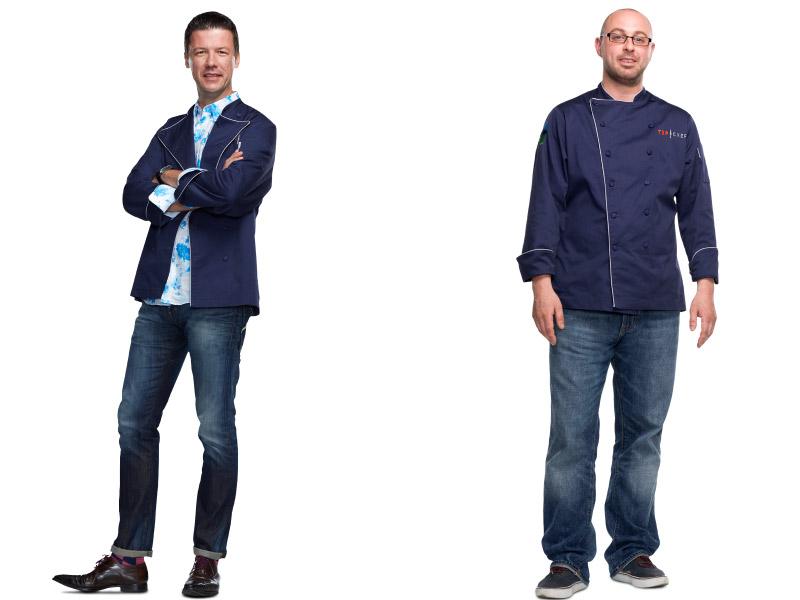 Bart Vandaele and Dan O'Brien
