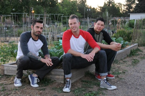 Johnny Coast, Alex Comisar, and Jensen Cummings, the team behind the Slotted Spoon