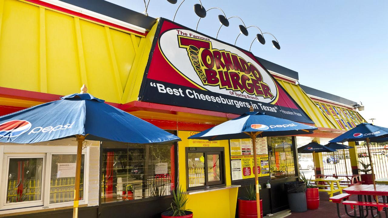 The new Tornado Burger in Spring Branch