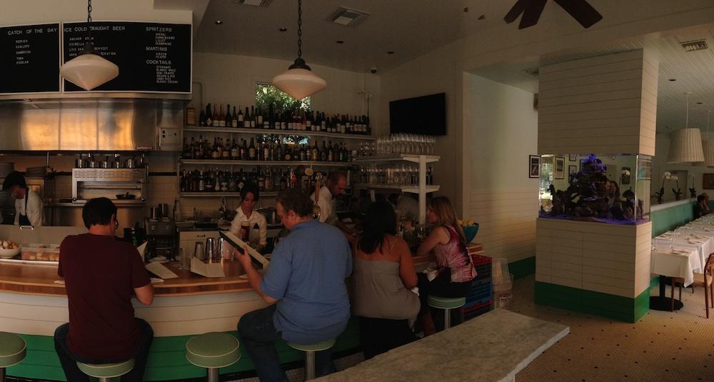 Clark's Oyster Bar.