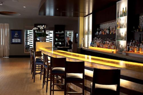 The bar at MiLa