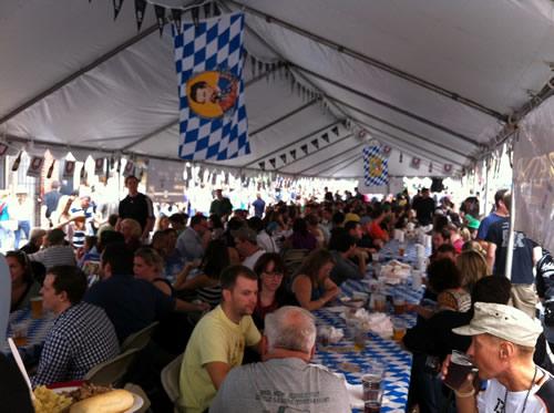 Oktoberfest at Brauhaus Schmitz