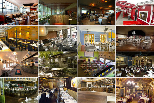 Sixteen of Houston's iconic dining rooms