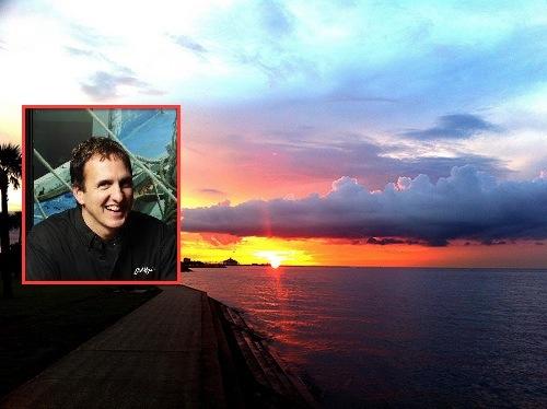 "Sunset on Lake Pontchartrain. [Photo: <a href=""http://www.flickr.com/photos/jonnyc/5024578290/in/photostream/"">flickr / jonny c</a>] Kent Burgess"