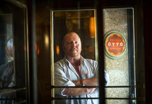 """<a href=""""http://eater.com/archives/2012/09/04/mario-batali-interview-september-2012-part-one.php"""">Eater Interviews Mario Batali, Part One</a> and <a href=""""http://eater.com/archives/2012/09/05/mario-batali-interview-september-2012-part-two.php"""">Part"""