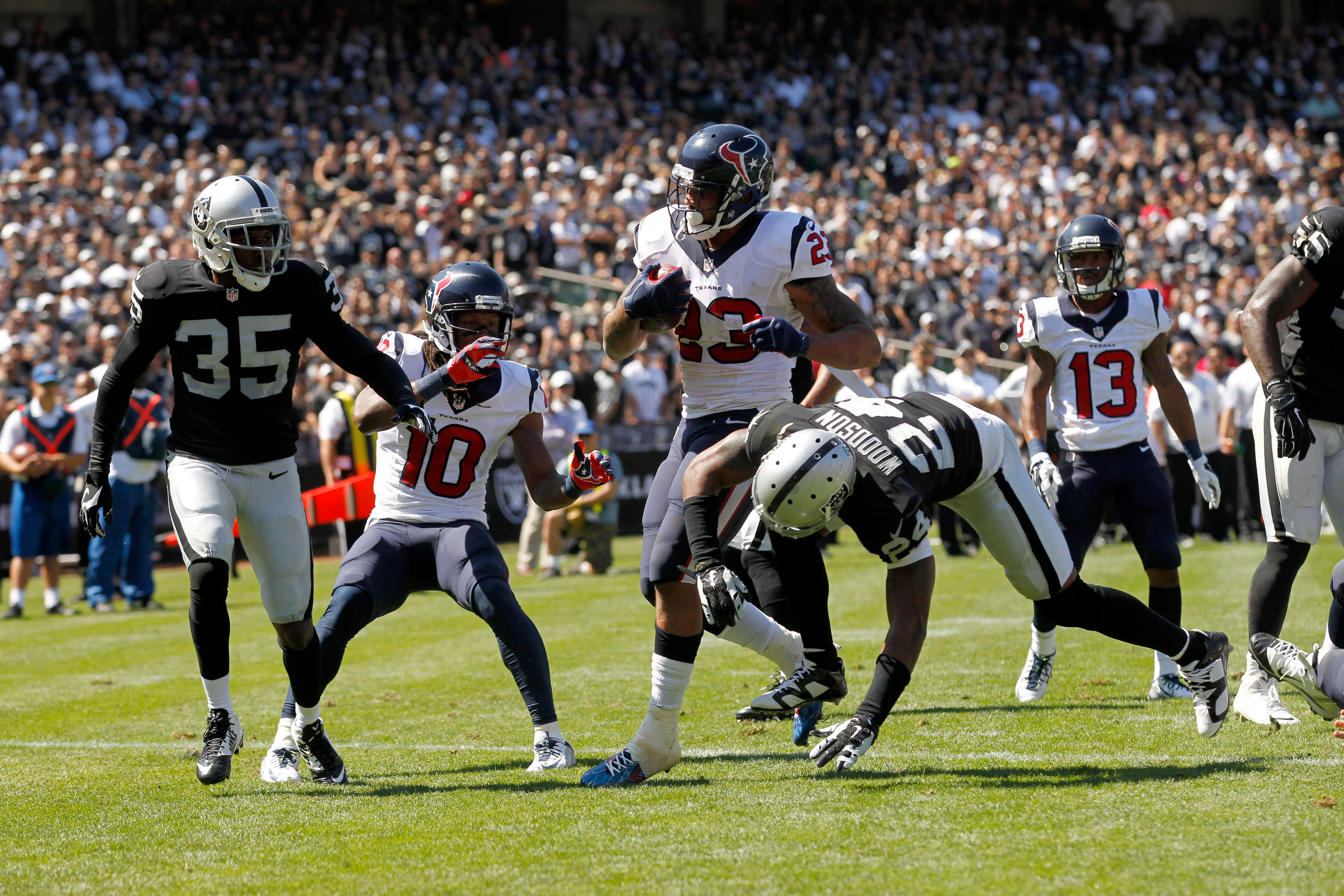 Fantasy football projections, Week 3: Texans-Giants featuring Victor Cruz, Andre Johnson and Arian Foster