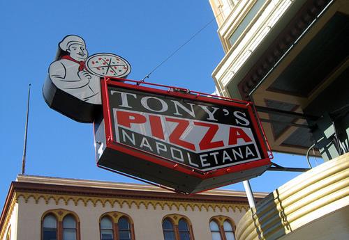 Tony's Pizza Napoletana.
