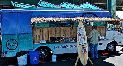 Slider Shack food truck.