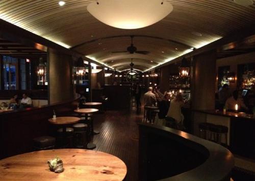 Dixie's dining room.