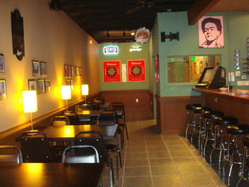 Inside Crazy J's, the latest venture from the owners of Little Bitty Burger Barn.