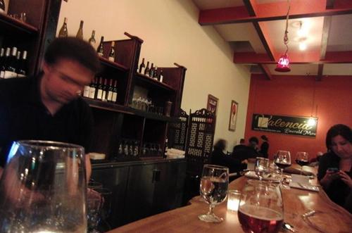 Lot 7's bar.