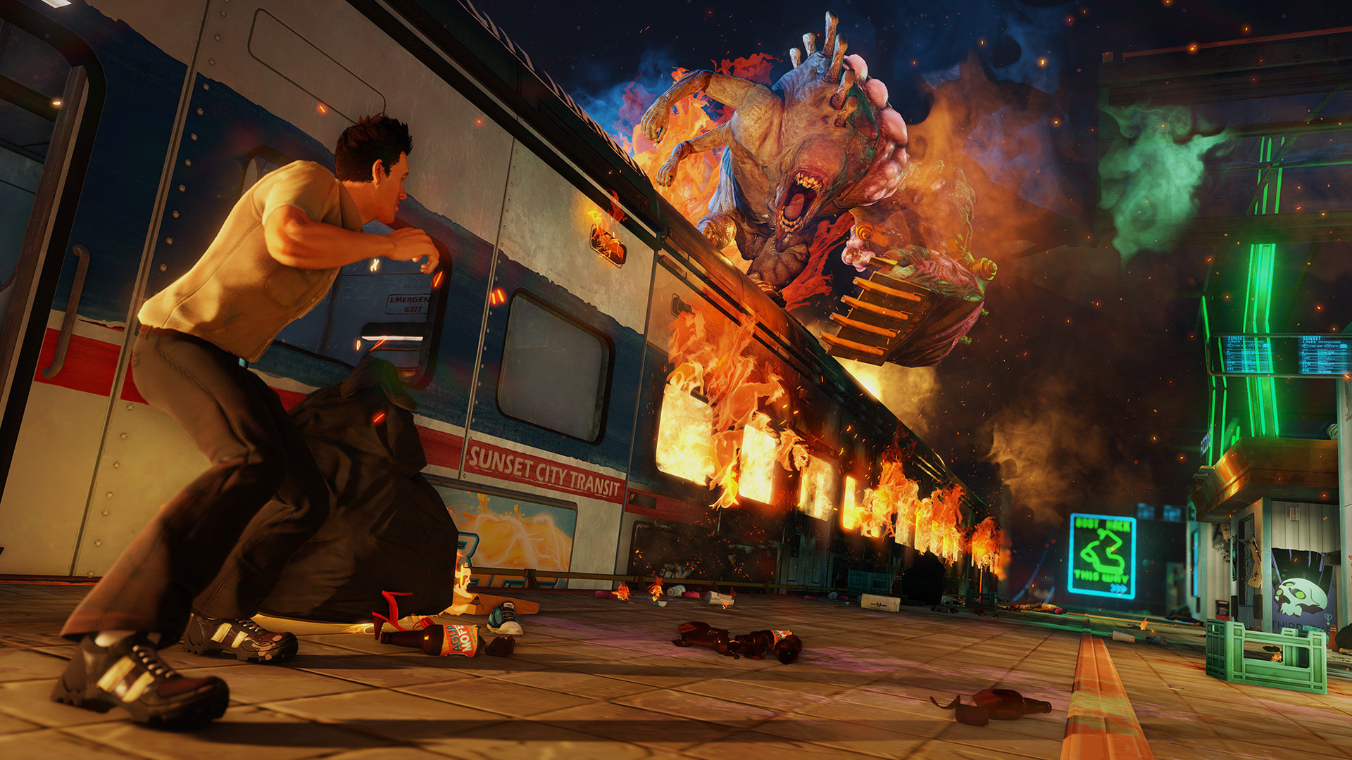 I played the first two hours of Sunset Overdrive and I liked it a lot