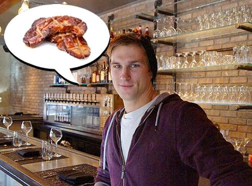 Jason Cichonski loves foie