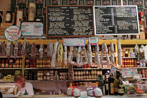 Molinari Delicatessan in North Beach.