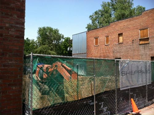 Pearl Street Grill demolition