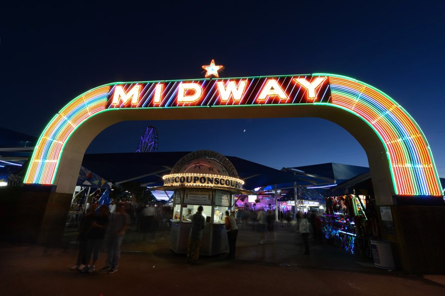It's almost time to go win a giant stuffed banana on the Midway.