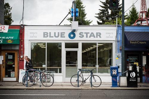 Blue Star Donuts in Hawthorne.