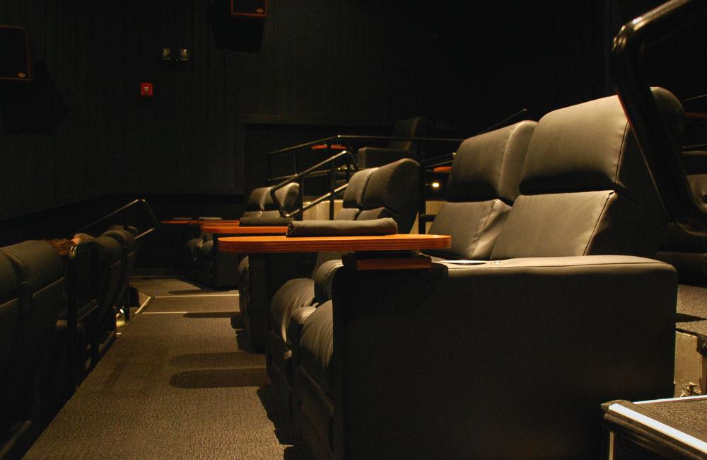 LOOK Cinemas in Addison even has proper silverware rolls.