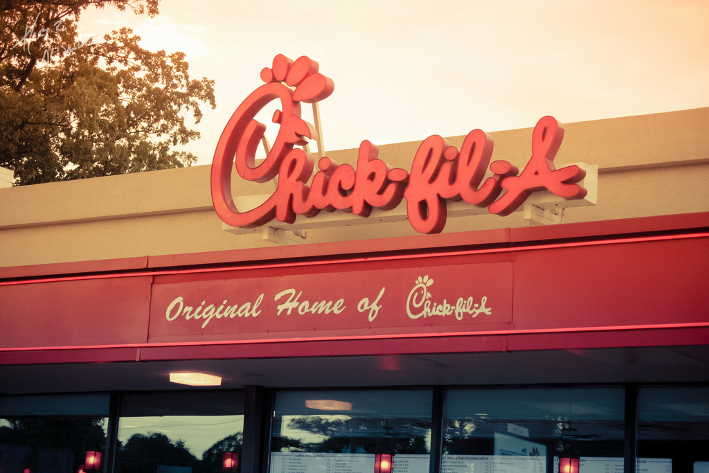 How 88 Chick-fil-A Customers Got a Free Lunch