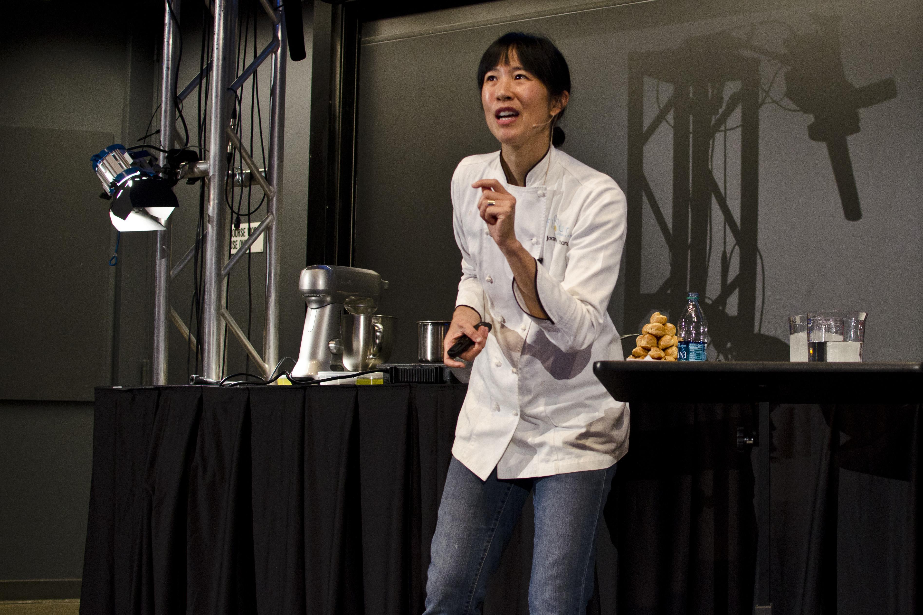 Joanne Chang at Harvard