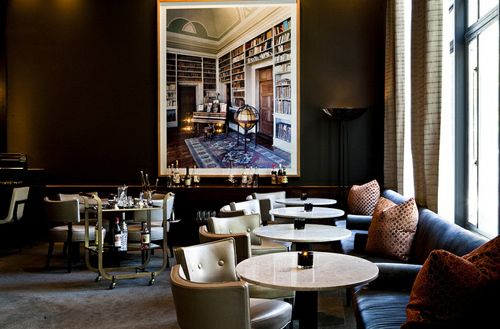 The new lounge area at Quince in Jackson Square.