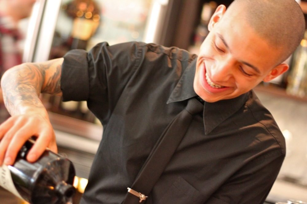 Bar Manager Gabe Lowe
