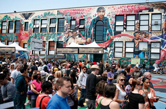 Last year's SF Street Food Festival drew 80,000 people in one day.