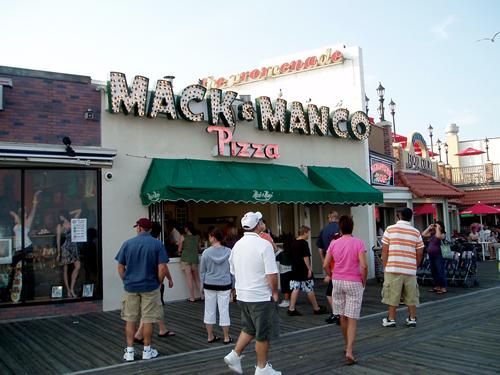 Don't act surprised Adam picked Mack & Manco's.