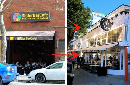 Slider Bar Cafe San Francisco
