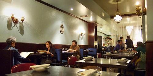 Cafe China, New York.