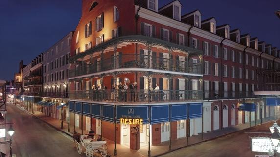 The Royal Sonesta Hotel, home of Restaurant R'evolution.