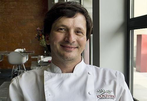 Chef Olivier Ciesielski.