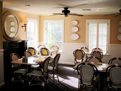 An upstairs dining room at Backstreet.