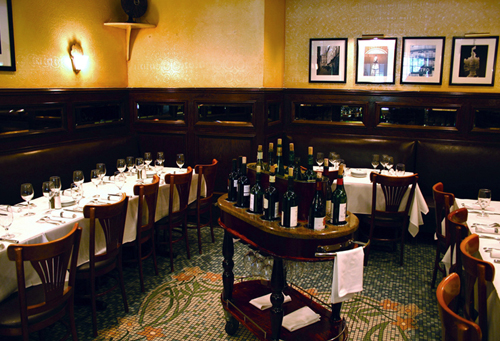 Mon Ami Gabi will be offering a special Passover menu